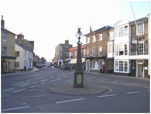 Southwold Market Place and High Street